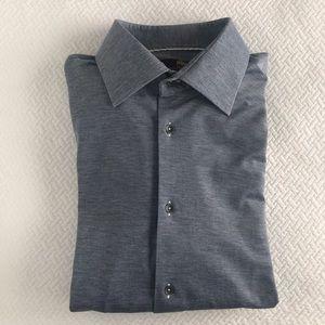 Other - Circle of gentlemen navy blue dress shirt 17 34/35